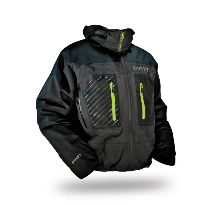DRYFT Primo wading jacket front