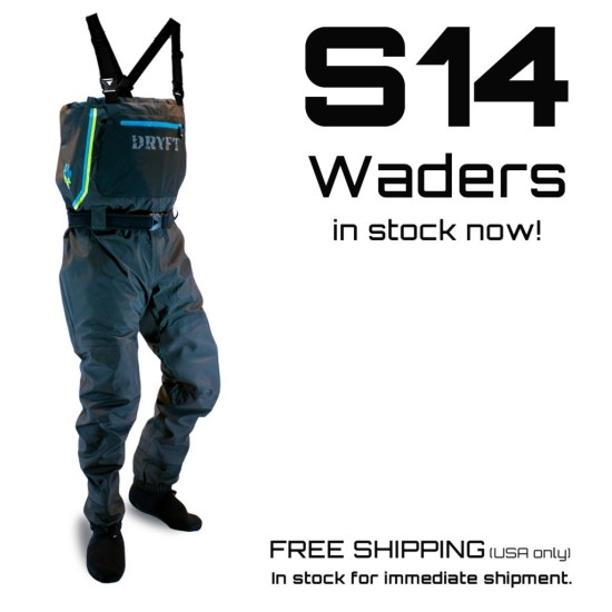 S14 waders in stock
