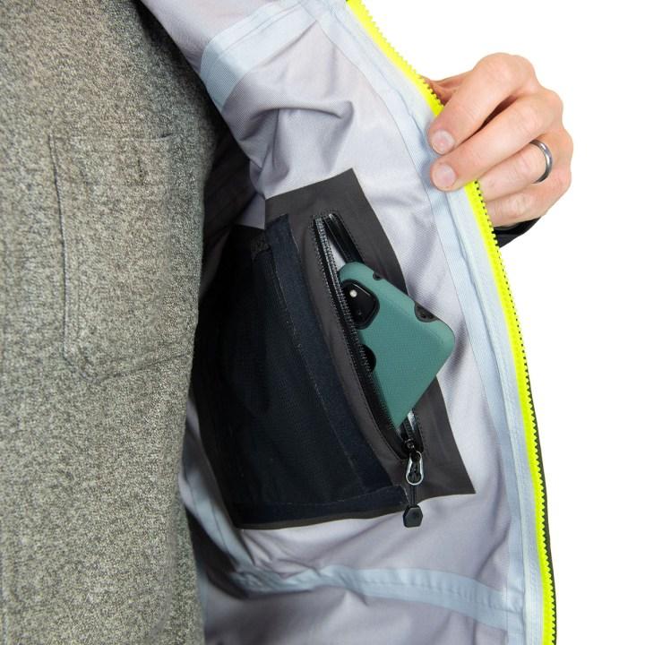 DRYFT Primo wading jacket inside pocket