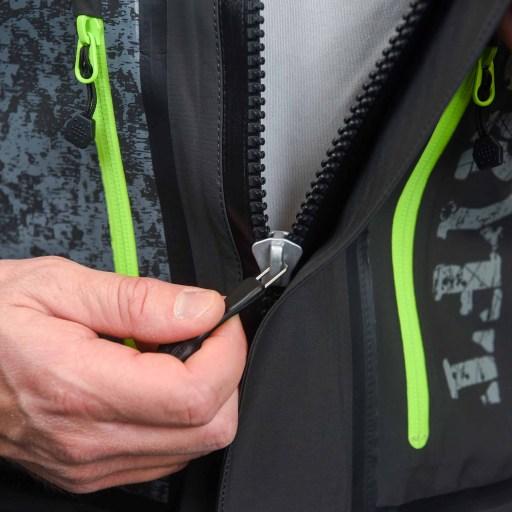 Waterproof zipper wader care tips