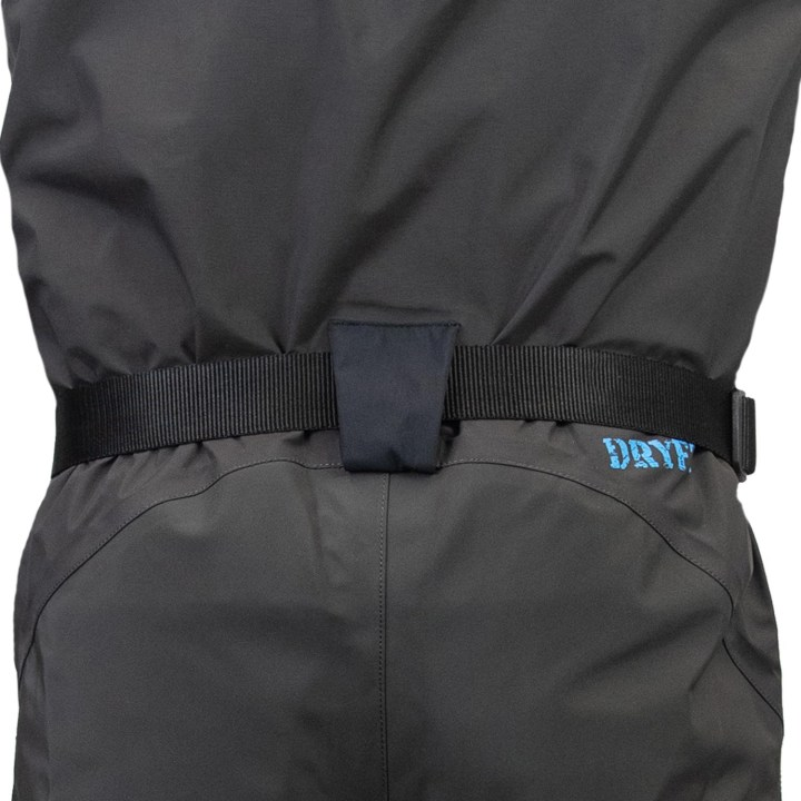 dryft Primo Zip GD wader back belt loop