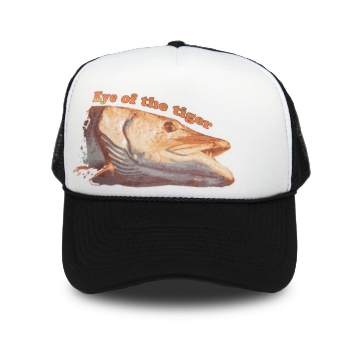 dryft tiger musky trucker hat