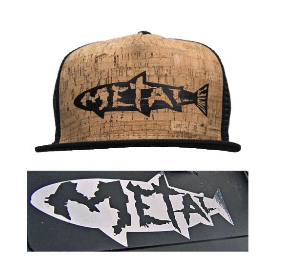 metal on cork hat dryft swag pack