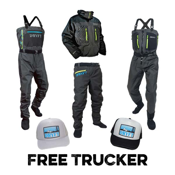 dryft free trucker hat