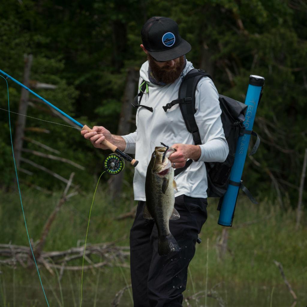 bass fishing SUP