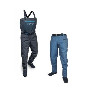 S14 wader and SEEKR wading pant bundle - DRYFT