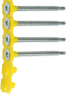 collated screws and belt
