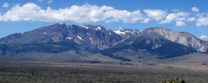 the east side of the sierras, near mono lake