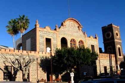 La Paz building built in 1910