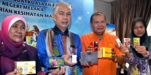 Jabatan Kesihatan Negeri Melaka menasihatkan orang ramai agar tidak membeli atau menggunakan 129 produk kesihatan dan kecantikan yang dikesan mengandungi bahan terlarang termasuk racun terkawal. - Foto BERNAMA