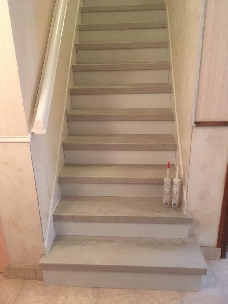 Habillage Escalier Beton Ds Parquet St Brevin