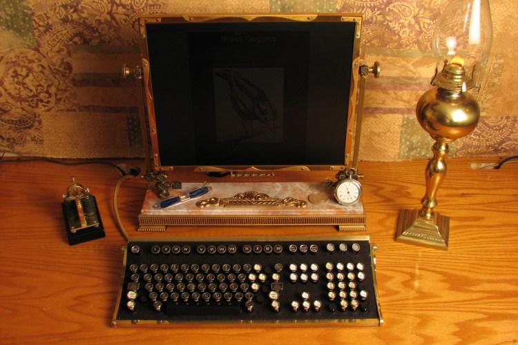 Jake Von Slatt, Steampunk Desktop, CC-BY-SA.