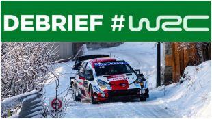 WRC Monte-Carlo, Saturday briefing: Bagarre Ogier