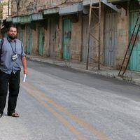 Yehuda Shaul, à Hébron.