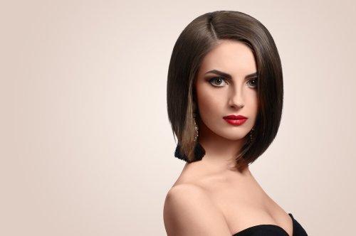 Contoh Model Rambut Segi Panjang Tanpa Poni Terbaru