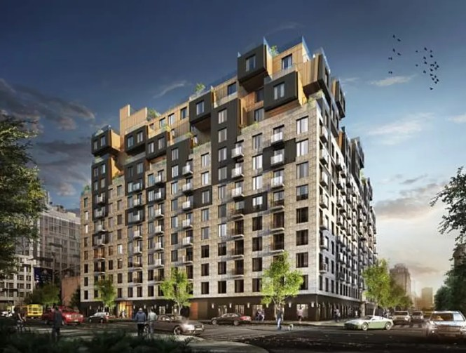 Rendering For The Forthcoming Residential Building At 260 Gold Street In Downtown Brooklyn