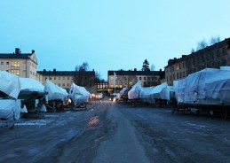 entrée de l'hotel - Långholmen
