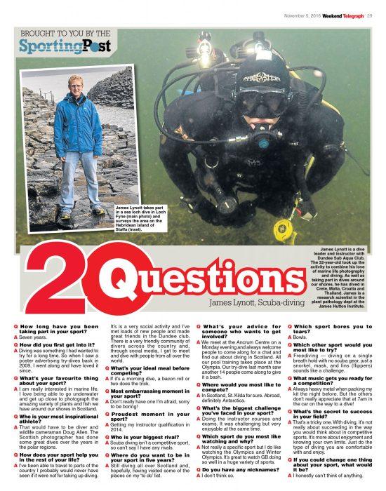Weekend Tele 20 Questions: James lynott