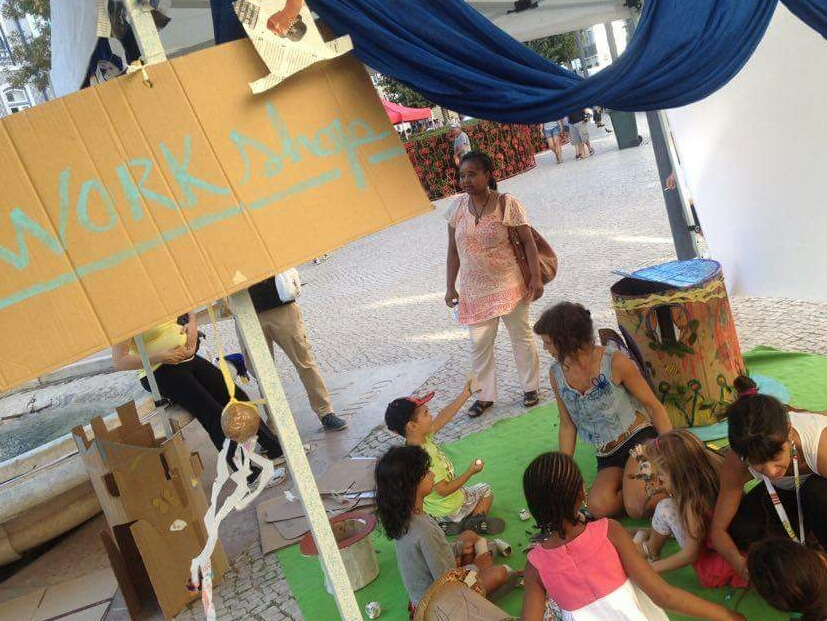 REcreate @ Lisbon Busking Festival