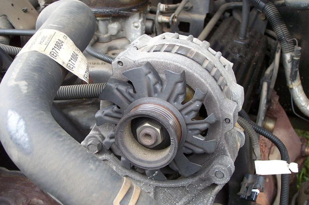 An alternator for a 1993 Chevy Silverado.