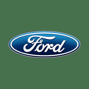 Ford's brand logo.