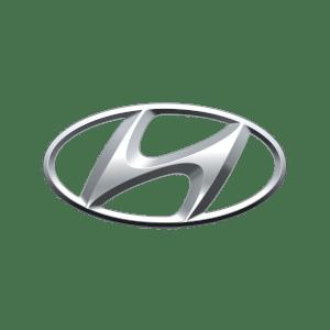 Hyundai's brand logo.
