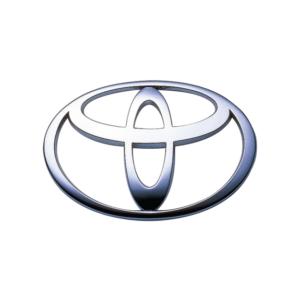 Toyota's brand logo.