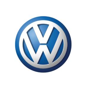 Volkswagen's brand logo.