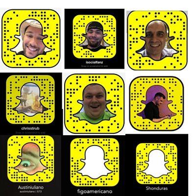 Snapchat top snapcodes