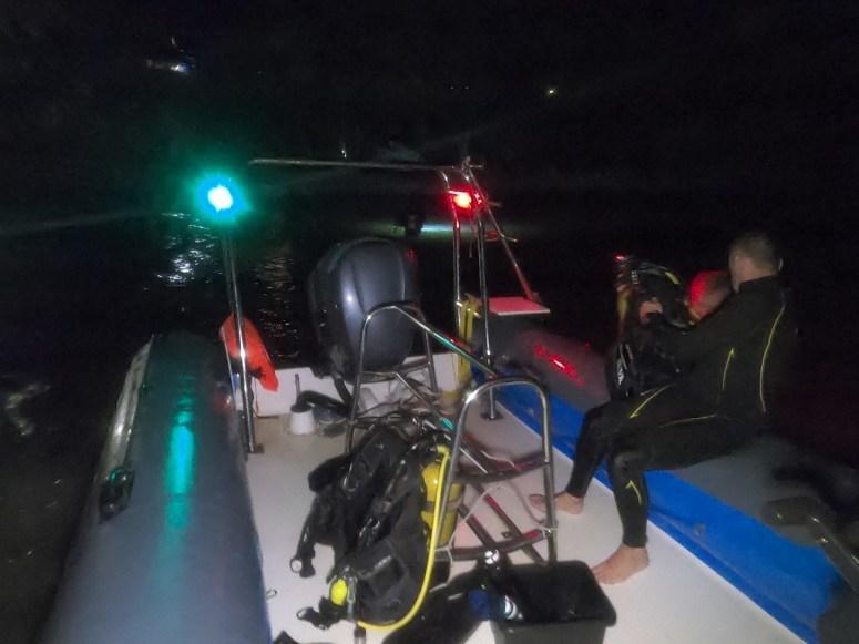 bateau de nuit- DSC club de plongée du Diamant