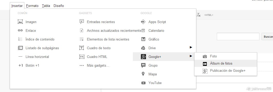 seo para plantillas google sites