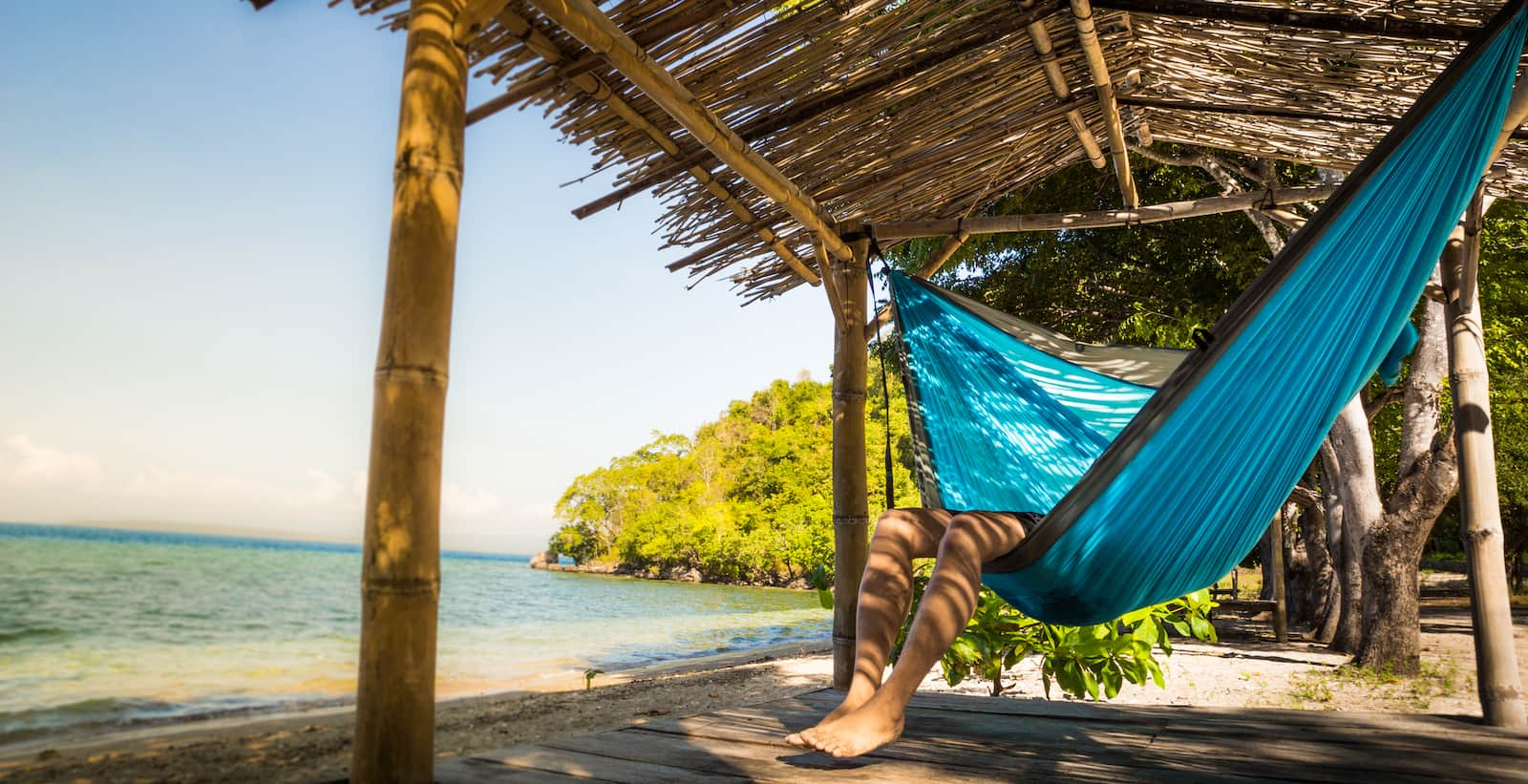 The Right Way To Lay In Your Hammock