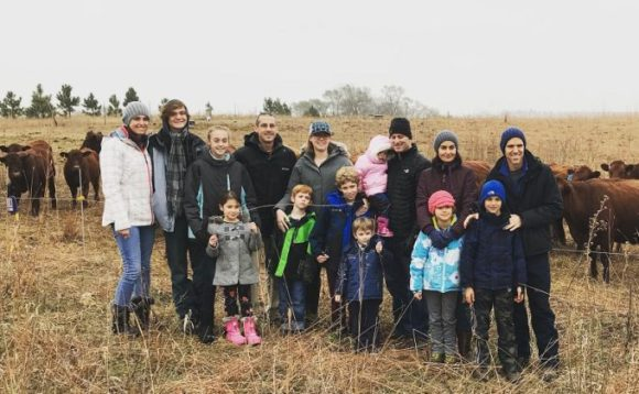 Read, Brennan and Post Families from the Omaha area visiting November 2017.