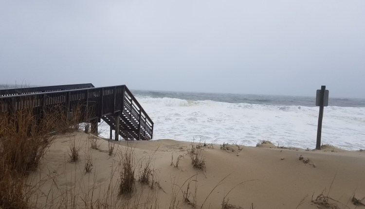 Bethany Beach dunes got a little shorter