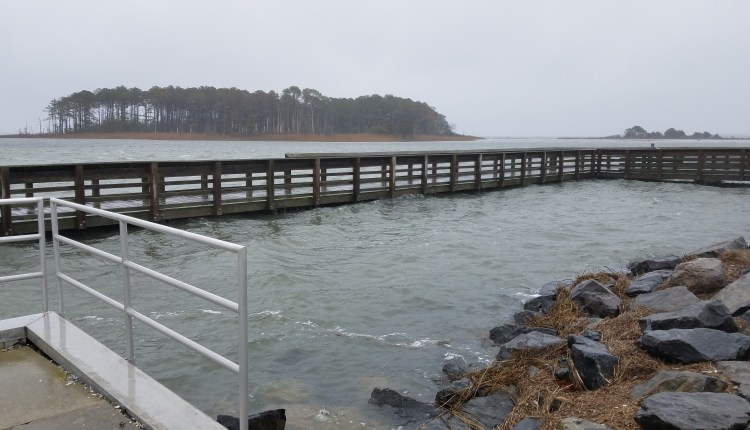 fishing pier at Masseys Landing