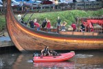 delaware, viking ship, Draken Harald Hårfagre