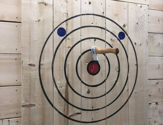 ax throwing, You Bet Your Axe targets