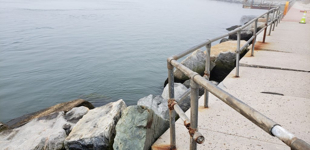 indian river inlet, jetty wall. acoe, army corp of engineers, delaware, sussex county