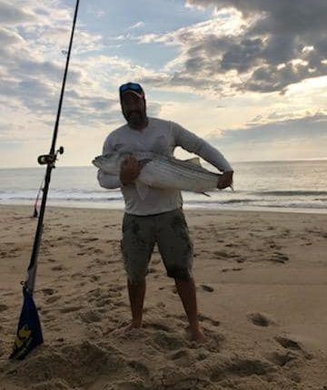 striped bass, rockfish, linesider, delaware seashore state park, 3rs, delaware, sussex county,
