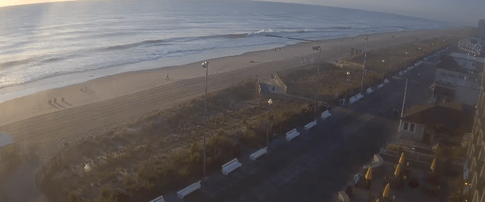 rehoboth beach, storm surge, low tide, hurricane humberto storm surge