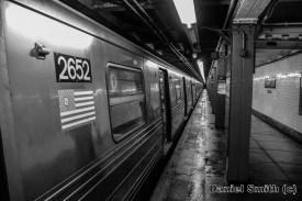 R68 D Train at 116th Street