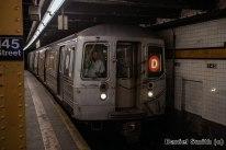 D Train at 145th Street