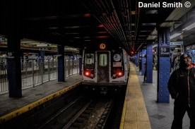 L Train At 59th Street