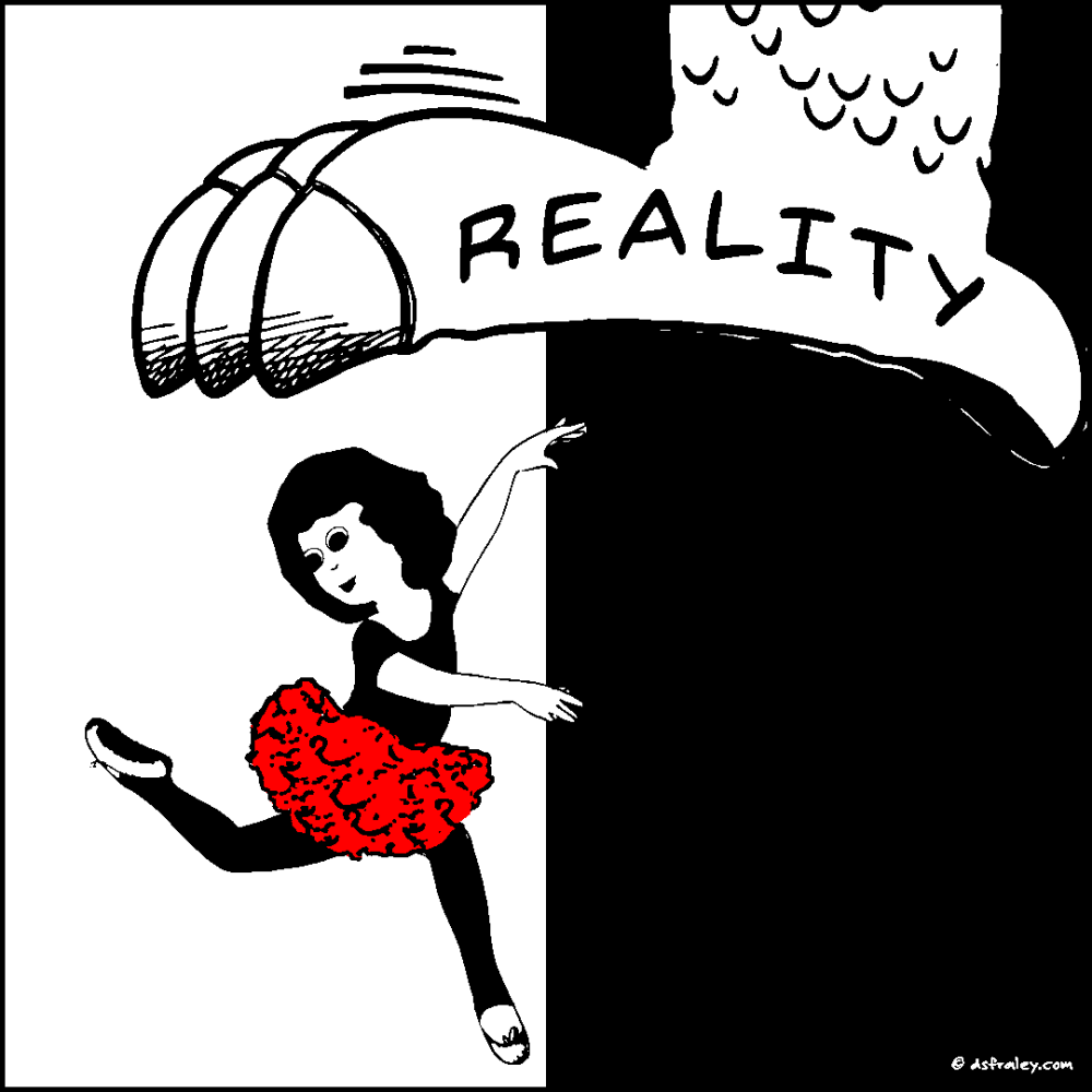 Reality Steps In