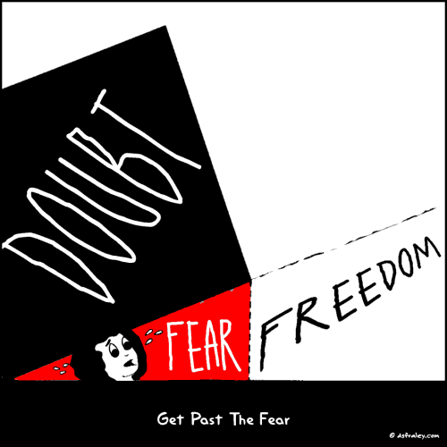 Get Past The Fear