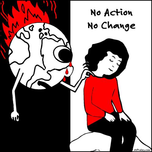 No Action, No Change