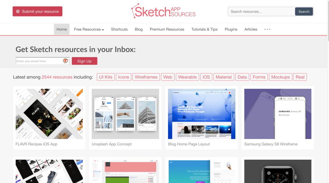 Sketch App Sources