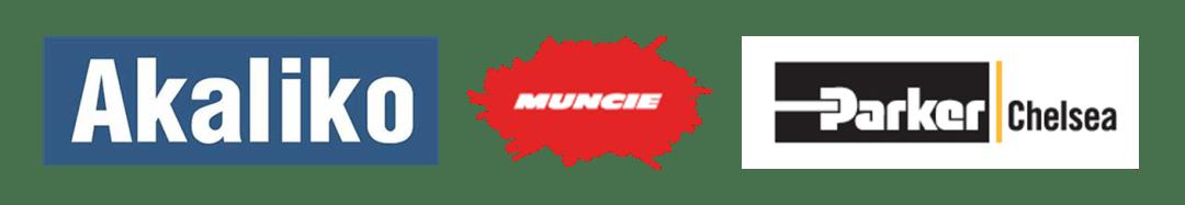 Akaliko dump cylinders and Parker Chelsea Muncie Wet Kits