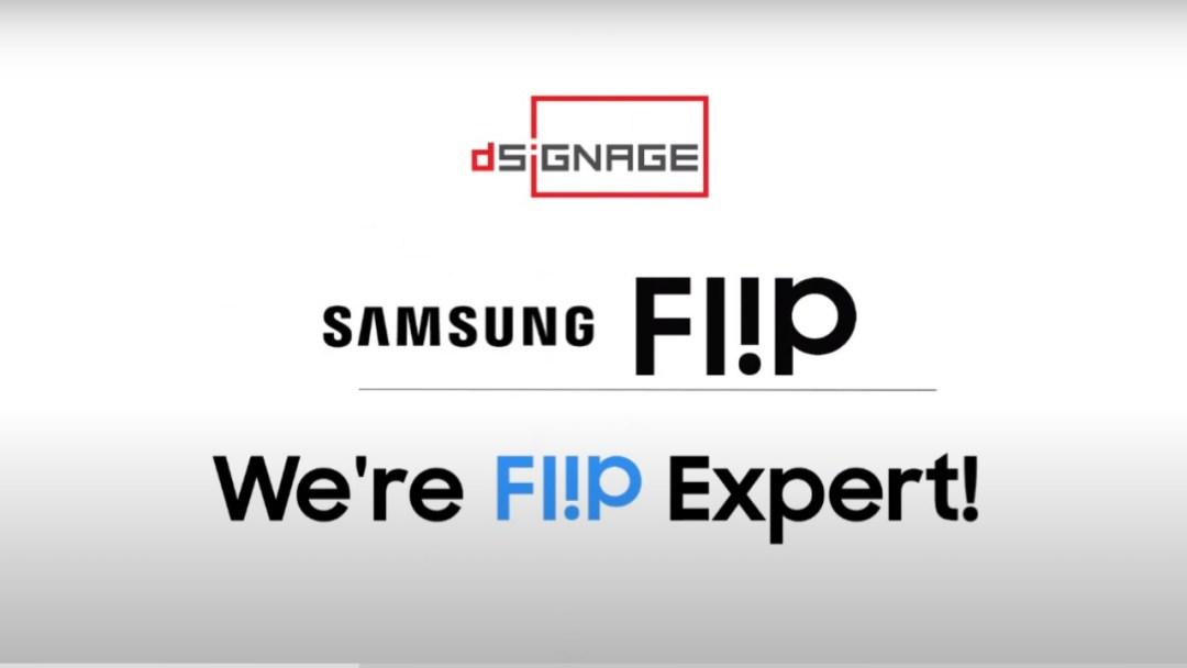 Samsung Flip we're expret