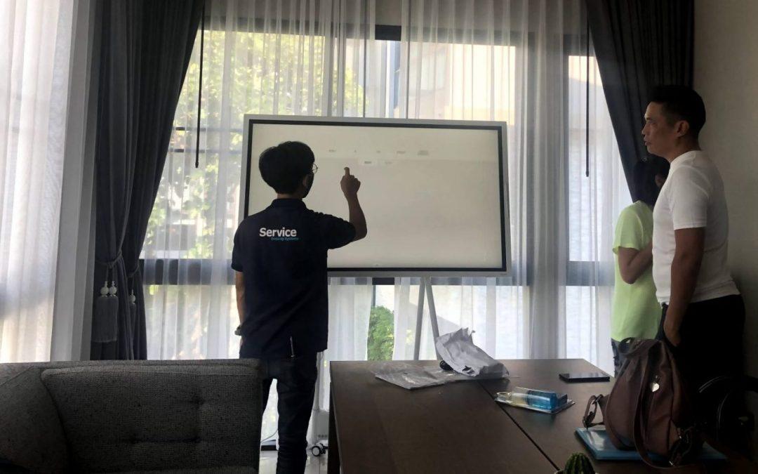 [ผลงาน] Work at Home by Samsung Flip 2 ขอบคุณลูกค้าบริษัท อีเอ เอวิเอชั่น จำกัด